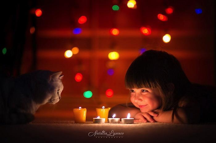Атмосфера Нового года в фотографиях