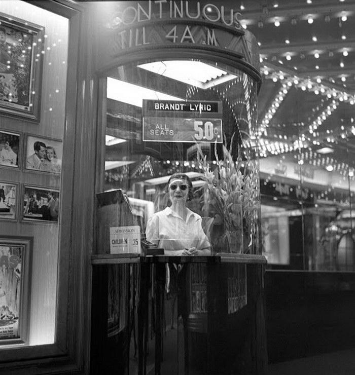 Нью-Йорк 1950-х годов в фотографиях Frank Larson