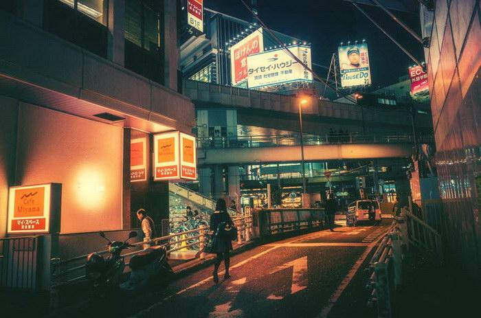 Ночной Токио в фотографиях Masashi Wakui