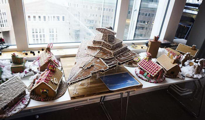 Пряничный «Звёздный разрушитель» и другие межгалактические десерты