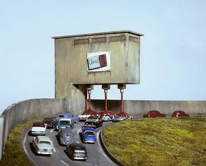 Сатира на современную жизнь: инсталляции Frank Kunert