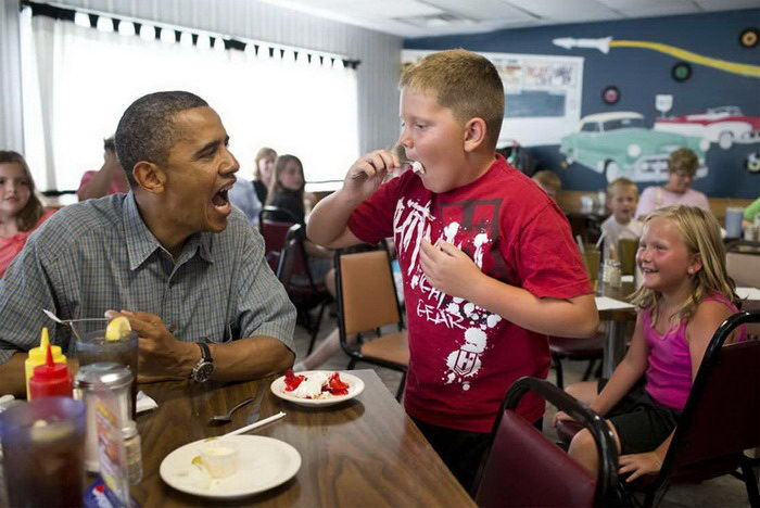 Барак Обама в фотографиях Pete Souza