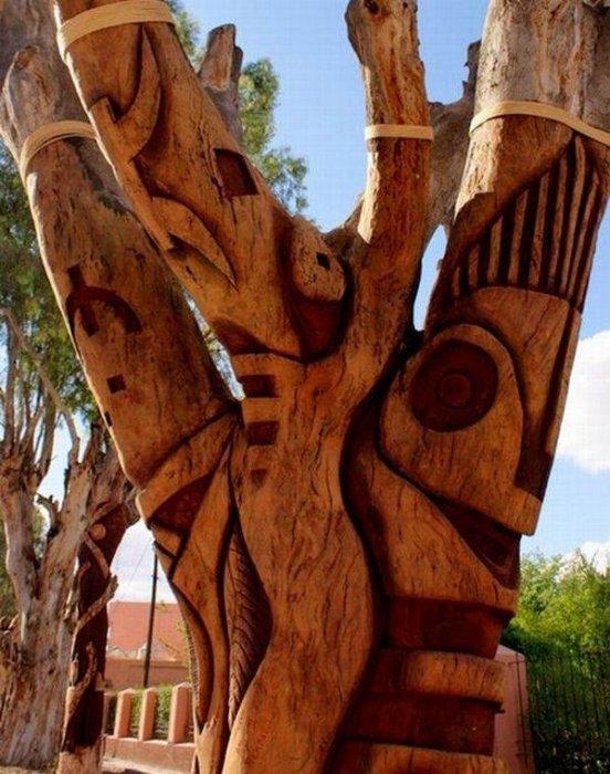 Искусство из дерева