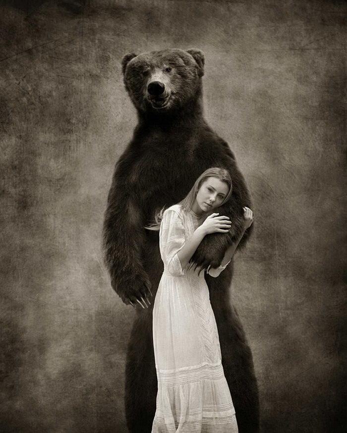 Дети и животные: фотопроект Erika Masterson