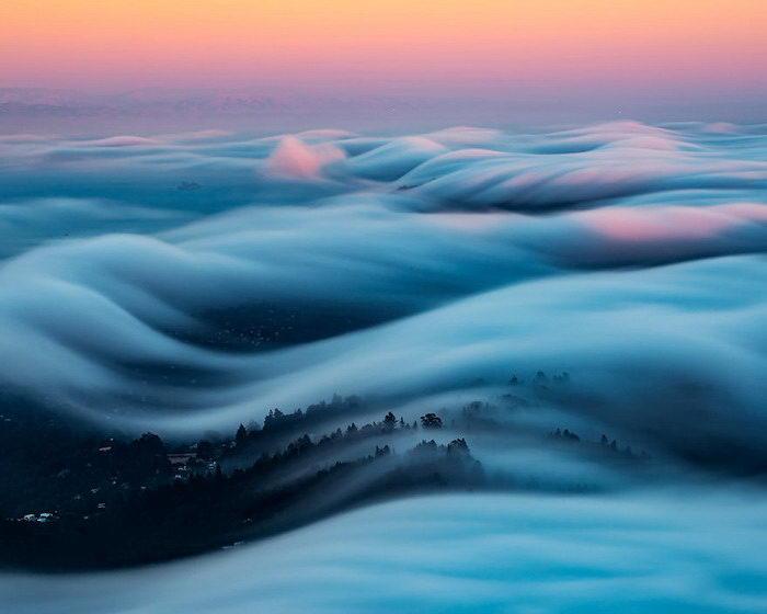 Туман в фотографиях Nick Steinberg
