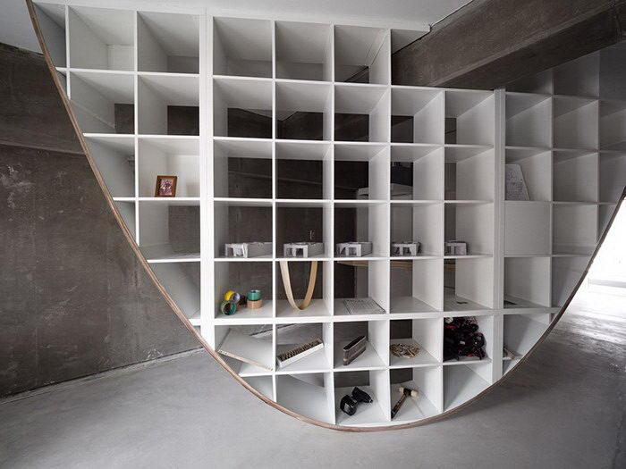 Параболическая мебель Takayoshi Kitagawa