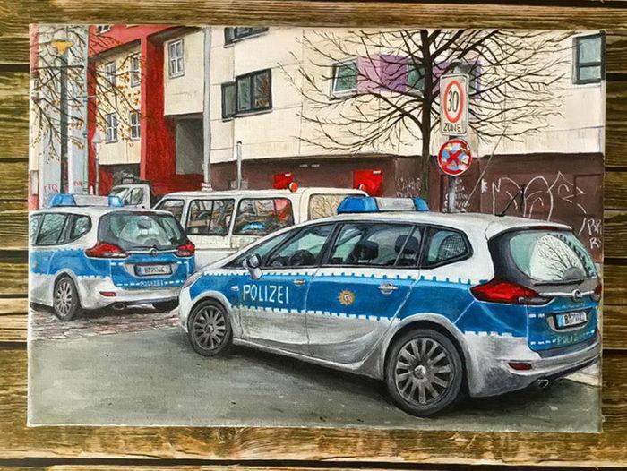 Берлин в зарисовках Keir Edmonds