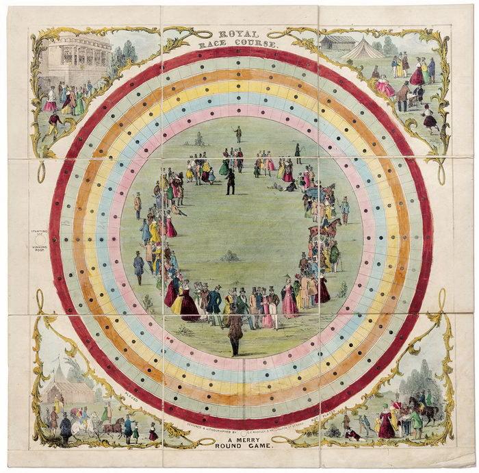 Настольные игры XIX века: настоящие произведения искусства