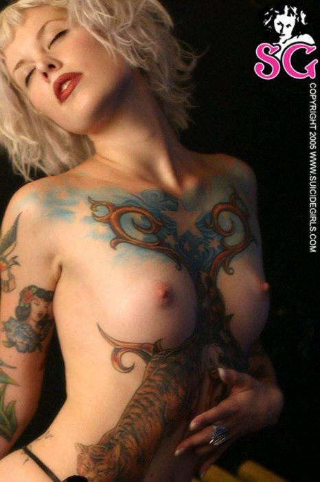 Сексуальные тату