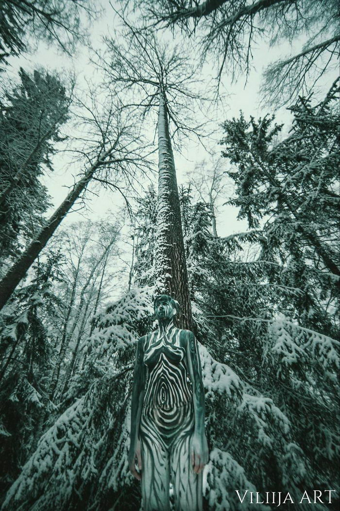 Невероятный боди-арт Vilija