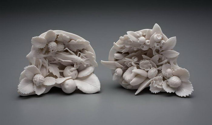Интересные скульптуры Kate MacDowell