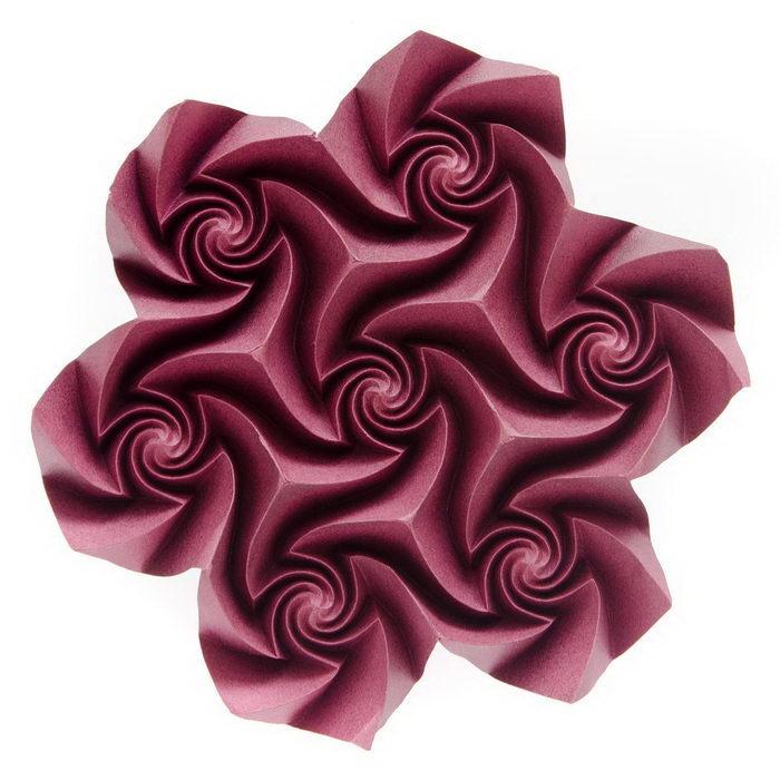Геометрические оригами Екатерины Лукашевой