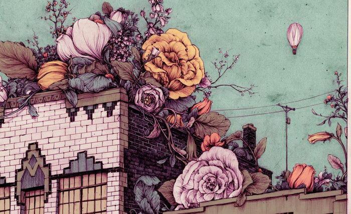 Необычные иллюстрации Pat Perry