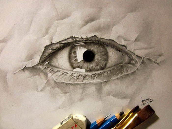 Карандашные рисунки Jerameel Lu