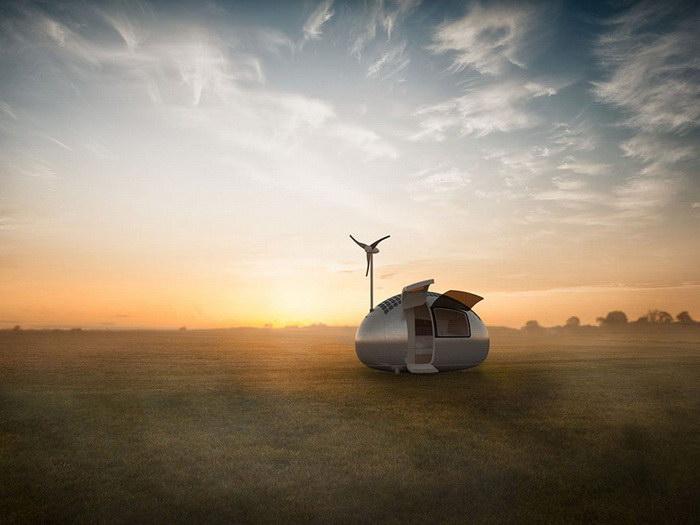 Дом-капсула, который можно перемещать по миру