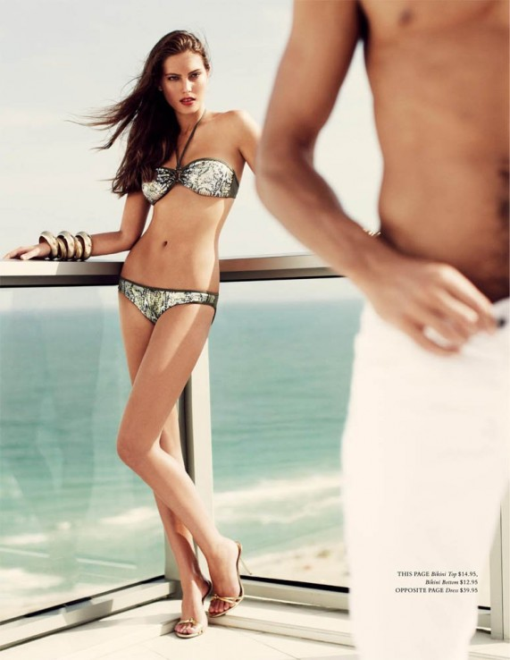 Фото Кэтрин МакНил (Catherine McNeil) для H&M Magazine, лето 2010