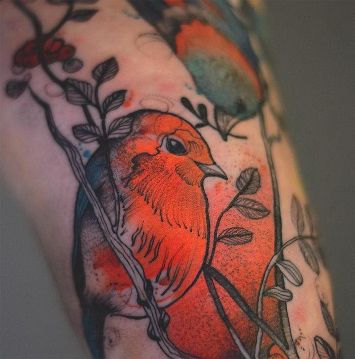 Яркие татуировки Joanna Swirska