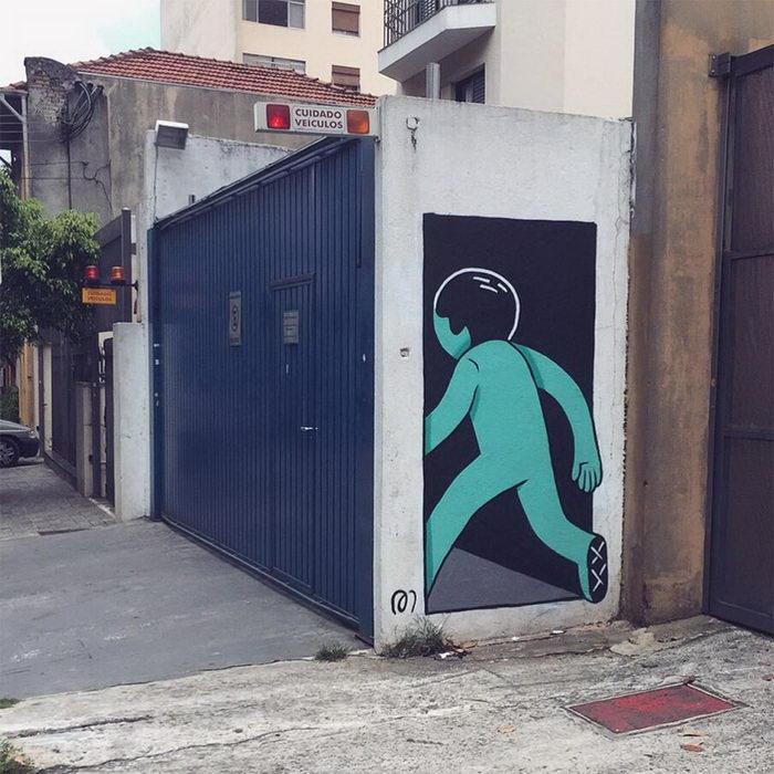 Забавные граффити Muretz