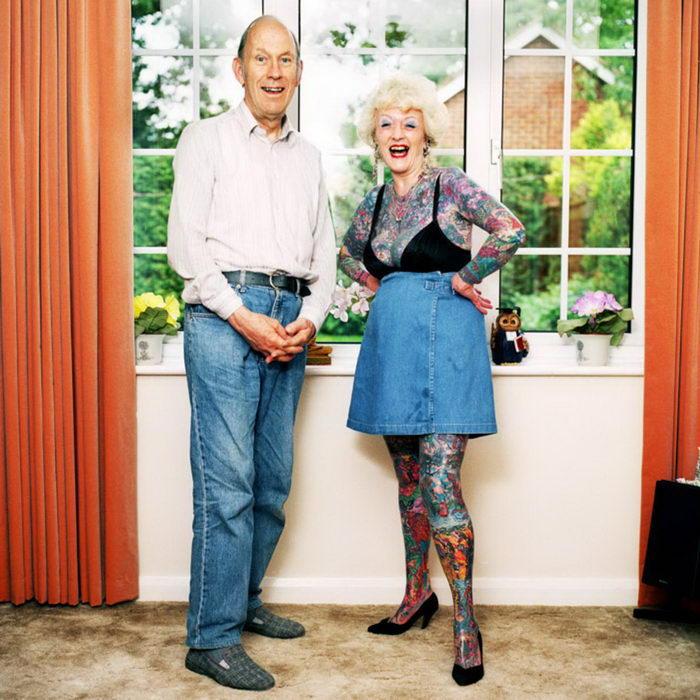 Стильно стареющие панки: фото Muir Vidler