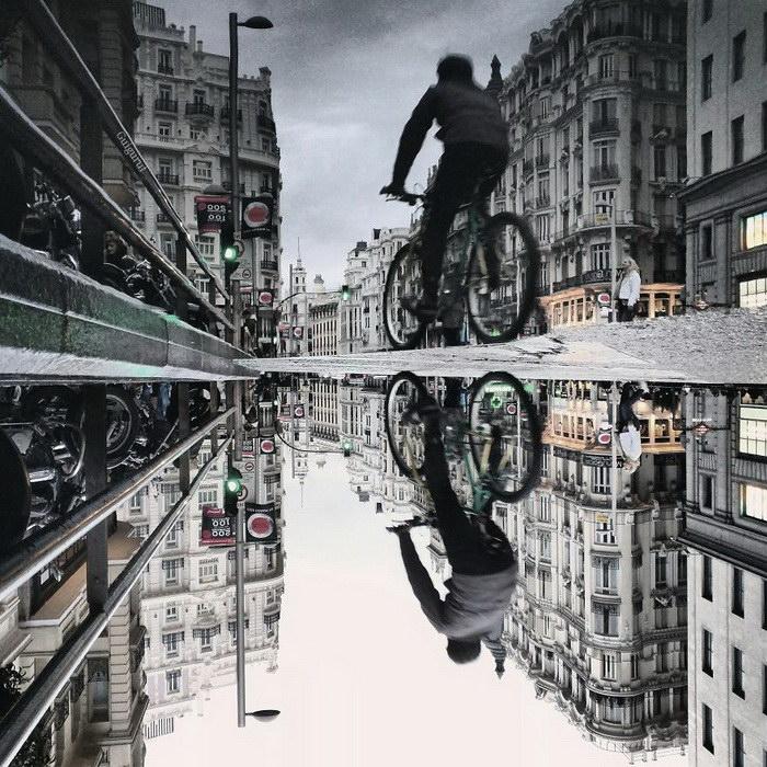 Отражения городов Европы в фотографиях Guigurui