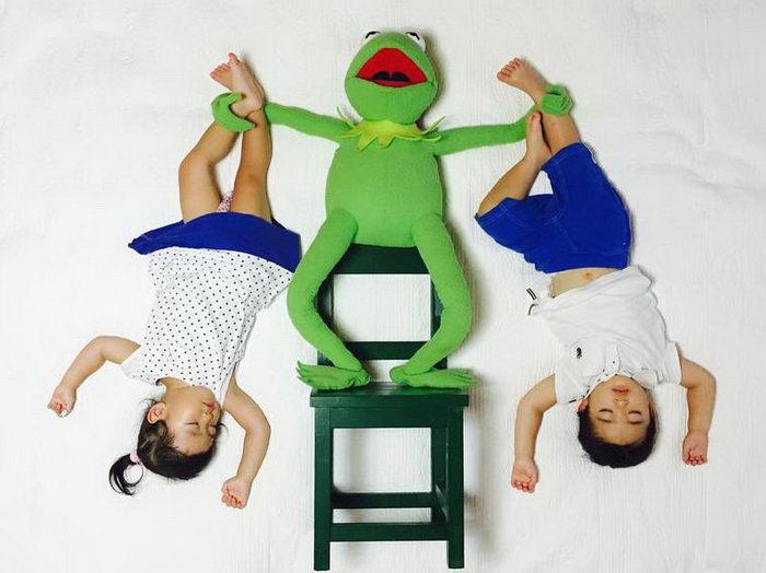 Близнецы Ayumi Omori и их сонные приключения