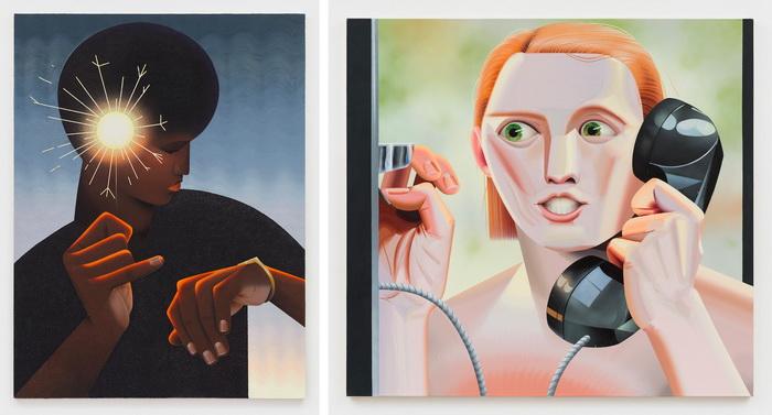 Женщины в портретах Robin F. Williams