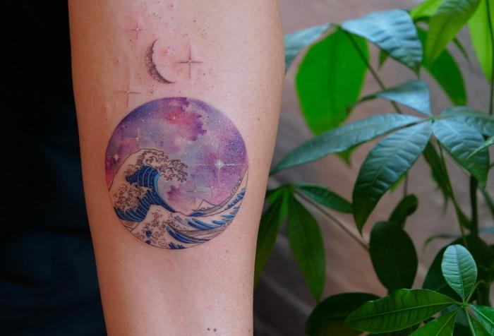 Нежные татуировки Havva Karabudak