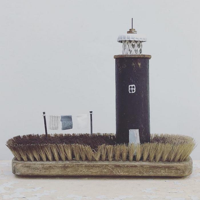 Скульптуры из мусора Kirsty Elson