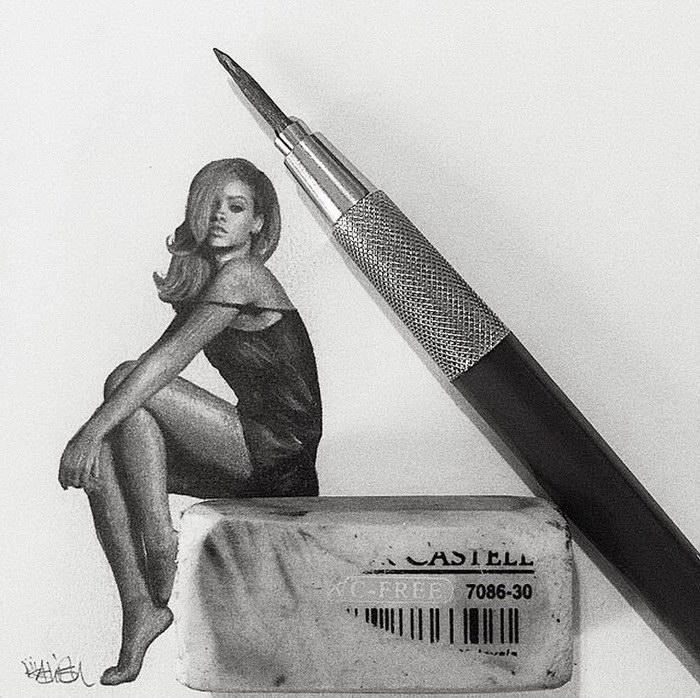 Миниатюрные иллюстрации Ashish Patel