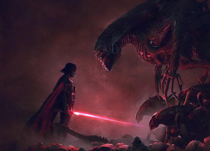 Звездные войны против Чужих: проект Guillem H. Pongiluppi