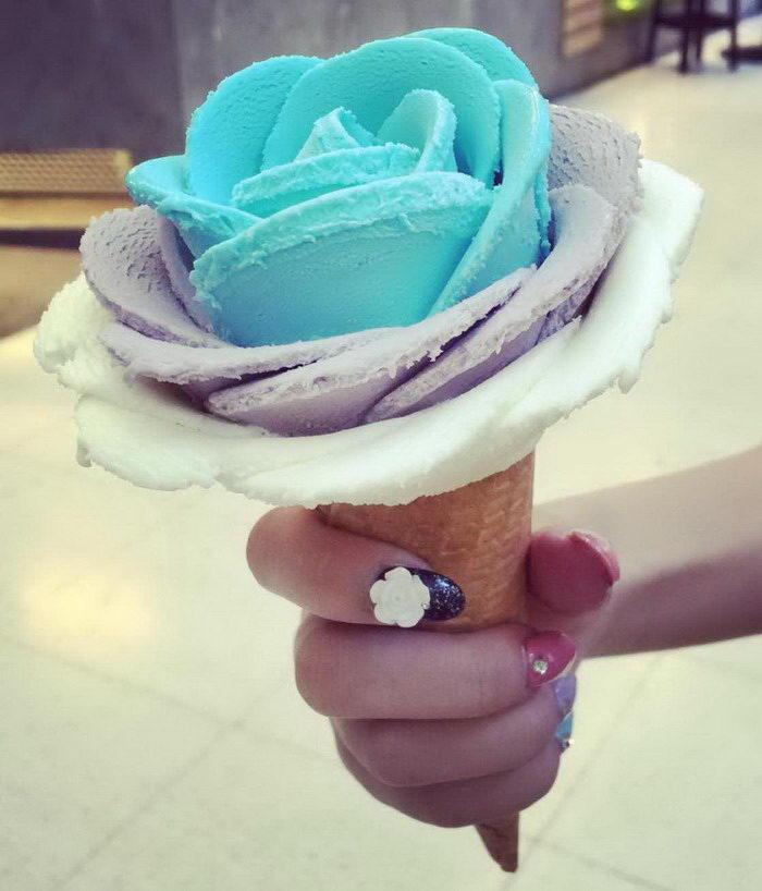 Необычное мороженое I-Creamy