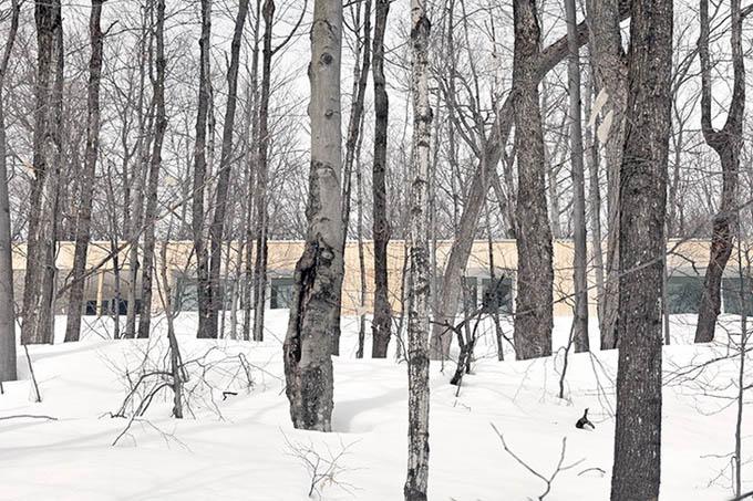 Дом This Blue Hills в Квебеке