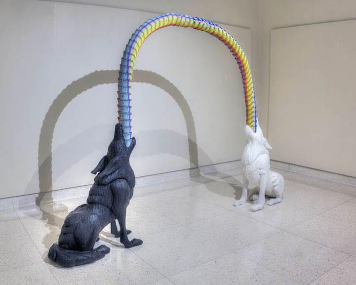 Скульптуры из карандашей Herb Williams