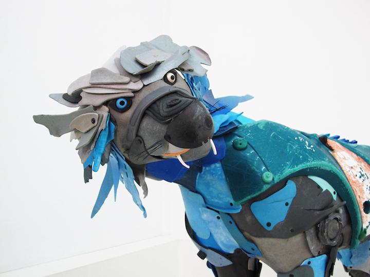 Необычные скульптуры животных Gilles Cenazandotti