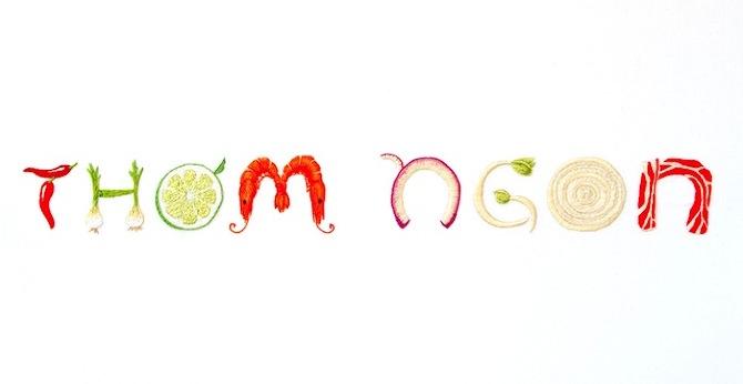 Красивый и аппетитный шрифт