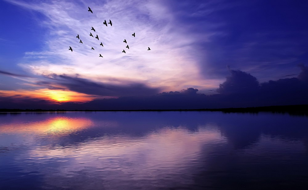 Подборка красивых закатов из разных точек земного шара