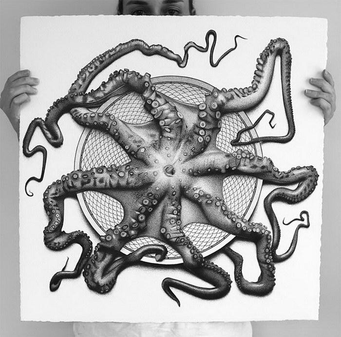 50 оттенков еды: художественный проект CJ Hendry