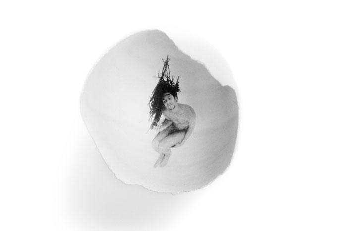 Рисунки на яйцах