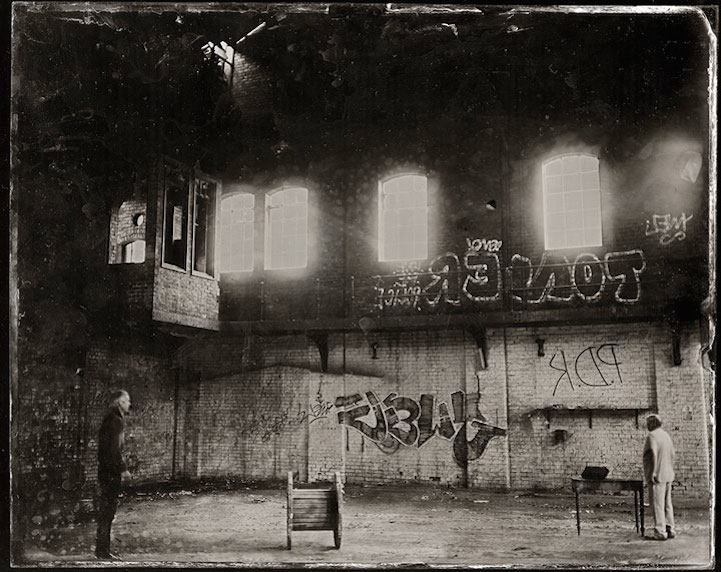 Современный мир в объективе старинной камеры
