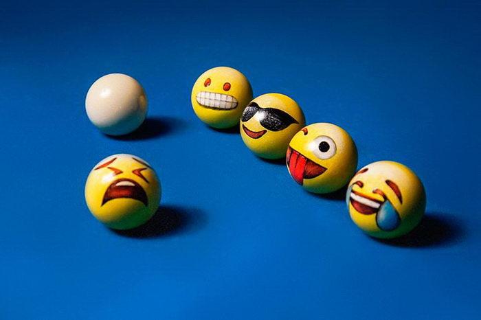 Веселые шары для бильярда Jean-Baptiste Le Divelec