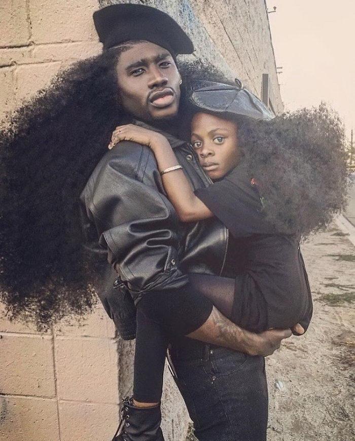 Отец и дочь: невероятные фотографии семьи Harlem
