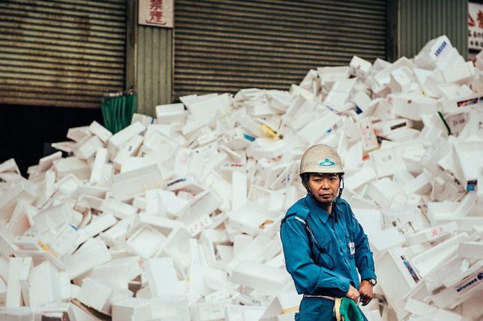 Лица Токийского рыбного рынка