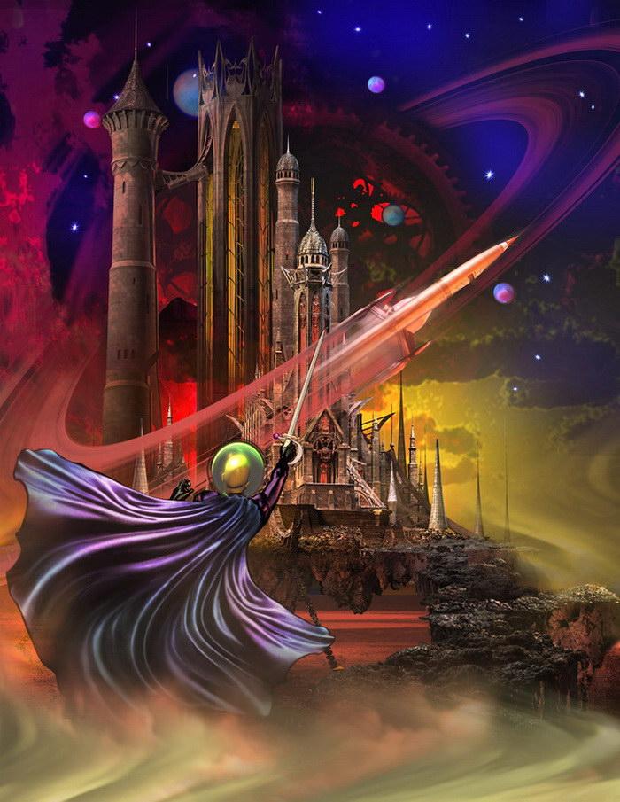 Цифровые иллюстрации Gregiore MacKoda