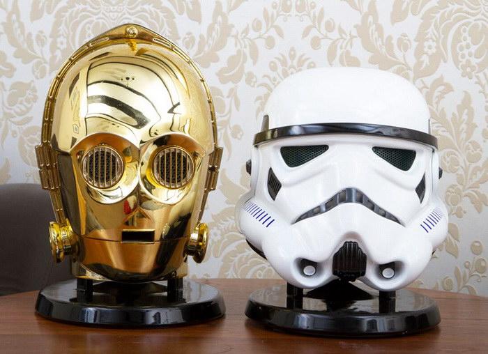 Колонки в виде героев киносаги «Звездные войны»