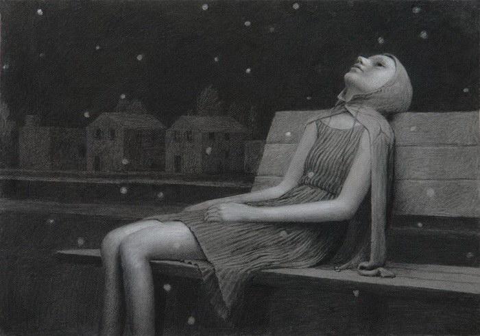Меланхоличные иллюстрации Aron Wiesenfeld
