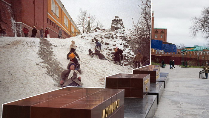 Новогодняя Москва в конце декабря: раньше и сейчас