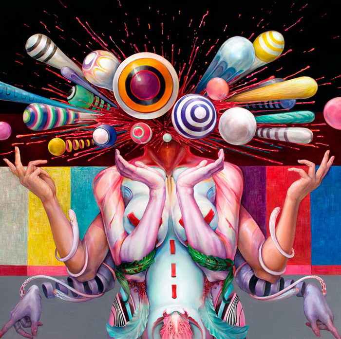 Сюрреалистические картины Hannah Faith Yata