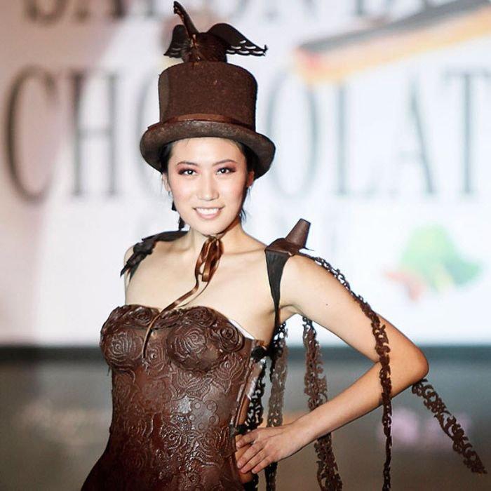 Шоколадные платья