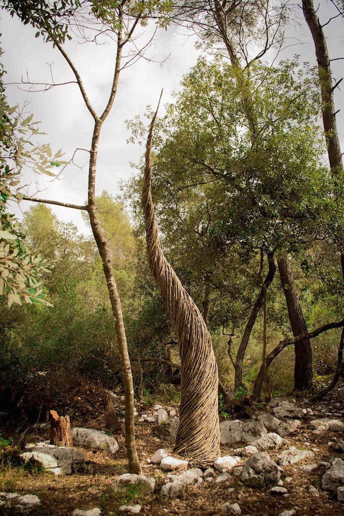 Лесные скульптуры Spencer Byles