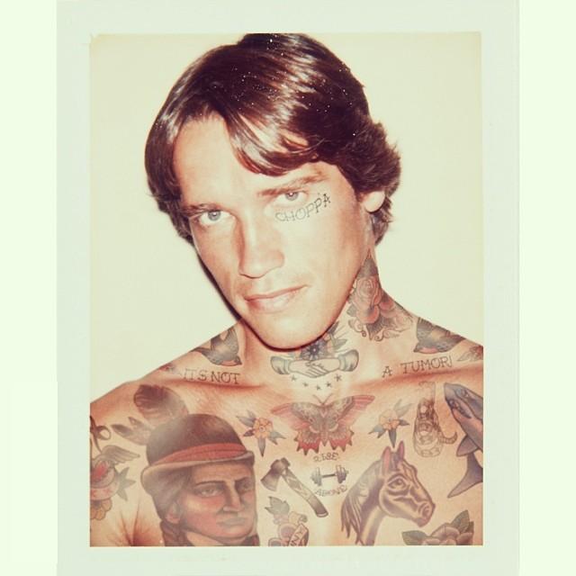 Звезды в татуировках в проекте Shopped Tattoos